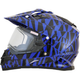 Blue FX-39SE Dazzle Helmet