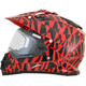 Red FX-39SE Dazzle Helmet