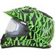 Green FX-39SE Dazzle Helmet