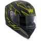 Flo Yellow K-5 S Hero Helmet