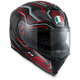 Black/Red K-5 S Deep Helmet