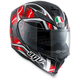Black/Red K-5 S Hurricane Helmet