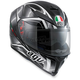 Black/Gunmetal K-5 S Hurricane Helmet