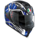 Black/Blue K-5 S Hurricane Helmet