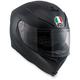 Matte Black K-5 S Solid Helmet