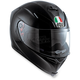 Black K-5 S Solid Helmet