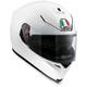 Pearl White K-5 S Solid Helmet