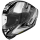 Black/Silver/White X-Fourteen Assail TC-5 Helmet