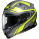 Hi-Vis Yellow/Gray Camo RF-1200 Parameter TC-3 Helmet