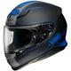 Matte Black/Hi-Viz Blue RF-1200 Flagger TC-2 Helmet