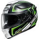 Black/White/Green GT-Air Expanse TC-4 Helmet