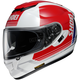 Red/White GT-Air Decade TC-1 Helmet