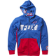 Youth Blue Marvel Captain America Zip Hoody