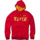 Red Marvel Zip Iron Man Hoody