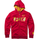 Youth Red Marvel Iron Man Zip Hoody