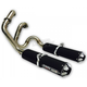 Dual Slip-On Exhaust - TR-4103D-BK