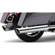Chrome 909 Slip-On Mufflers - 6108