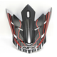 Red FX-17 Mainline Visor  - 0132-1048