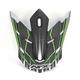 Green FX-17 Mainline Visor  - 0132-1051