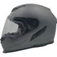 Frost Gray FX-105 Solid Helmet