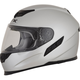 Silver FX-105 Solid Helmet