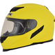 HI-Viz Yellow FX-105 Solid Helmet