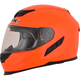 Safety Orange FX-105 Solid Helmet