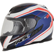 Red/White/Blue FX-105 Thunderchief Helmet