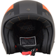 Frost Gray/Orange/Black FX-76 Tricolor Helmet
