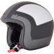 Frost Gray/Silver/Black FX-76 Tricolor Helmet