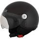 Gloss Black FX-33 Scooter Helmet