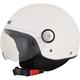 Pearl White FX-33 Scooter Helmet