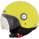 Hi-Viz Yellow FX-33 Scooter Helmet