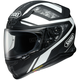 Matte Black/White/Gray Camo RF-1200 Parameter TC-3 Helmet