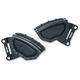 Satin Black Mesh Front Caliper Covers - 6539