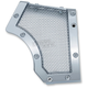 Chrome Mesh Front Pulley Cover - 6554