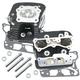 Super Stock 79cc Cylinder Head Kit (Wrinkle Black) - 900-0251
