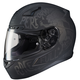 Semi-Flat Black/Gray CL-17 Rebel MC-5F Helmet