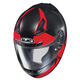 Semi-Flat Black/Red CL-17 Boost MC-1SF Helmet