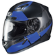 Semi-Flat Black/Blue CL-17 Boost MC-2SF Helmet