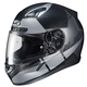Semi-Flat Black/Silver CL-17 Boost MC-5SF Helmet
