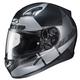 Semi-Flat Black/Silver CL-17 Boost MC-5SF Helmet