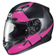 Semi-Flat Black/Pink CL-17 MC-8SF Helmet