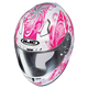 White/Pink CL-17 Cosmos MC-8 Helmet