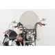 22 in. Smoke SS-30 Classic Windshield w/Chrome Quick Release Hardware - SS-30-22TQ
