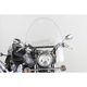 17 in. Clear SS-30 Classic Windshield w/Chrome Quick Release Hardware - SS-30-17CVQ