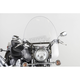22 in. Clear SS-30 Classic Windshield w/Chrome Quick Release Hardware - SS-30-22CVQ