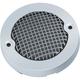 Chrome Mesh Bullet Turn Signal Lens Bezel w/Smoke Lens - 6515