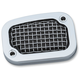 Chrome Mesh Brake Master Cylinder Cover - 6536