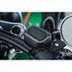 Satin Black Mesh Brake Master Cylinder Cover - 6537